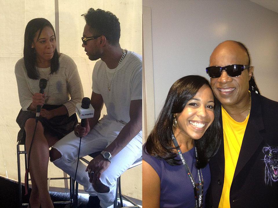 Lindsey Granger, Miguel, Stevie Wonder, MSNBC